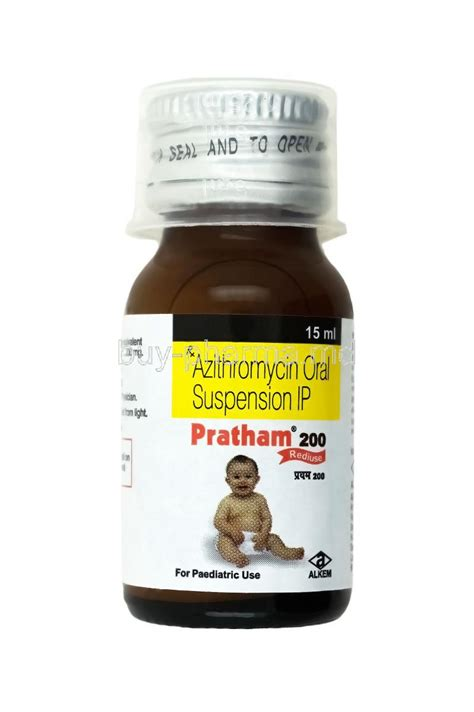 buy pratham oral suspension azithromycin