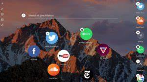 Opera unveils Neon a futuristic concept browser for your PC