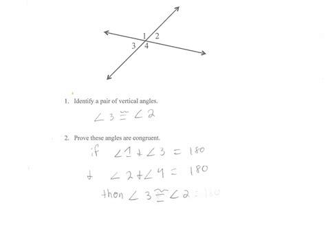 worksheet proving angles congruent worksheet carlos