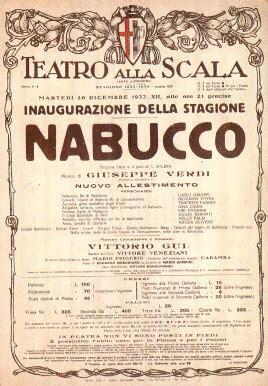 argumento de la opera nabucco de giuseppe verdi