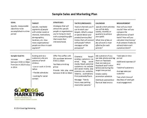 Sales Plan Template 32 Sales Plan Sales Strategy Templates Word Excel