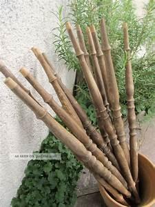Holzstäbe Zum Basteln : 12 alte gedrechselte hartholzst be 49 cm 1920 holzst be handarbeit basteln stab ~ Orissabook.com Haus und Dekorationen