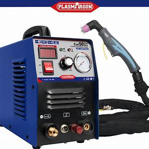 Air Plasma Cutter Pilot Arc Cnc Compatible 50a Dual