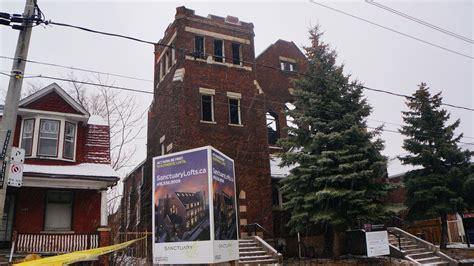 1185 dufferin st sanctuary lofts lost to fire jan 2014