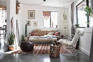 Int U00e9rieur Style Boh U00e8me  U2013 Maison Dans Le D U00e9sert De Californie