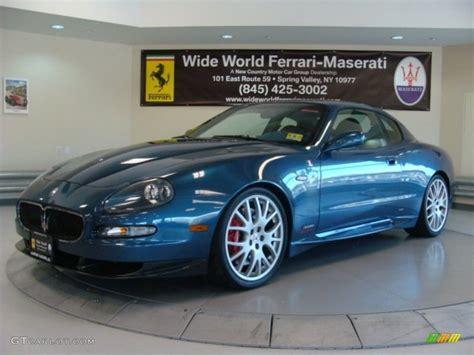 2006 Blu Victory Blue Maserati Gransport Mc Victory