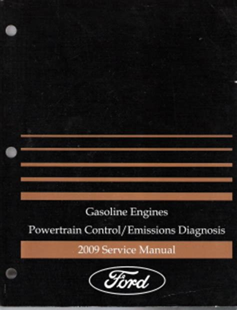 small engine service manuals 2007 ford f series engine control 2009 ford powertrain control emissions diagnosis factory service manual gasonline engines