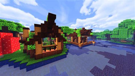 survival house dark oak forest mapbuilding mcpe maps