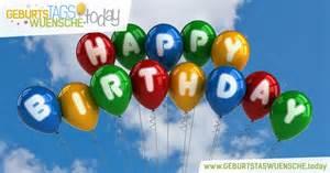 freundschaftssprüche zum geburtstag geburtstagsbild happy birthday mit luftballons