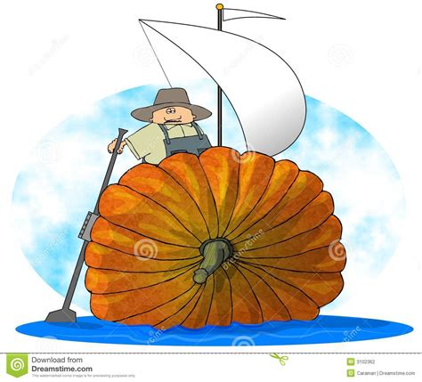 Sailboat Pumpkin by Pumpkin Sailboat Stock Photography Image 3102362