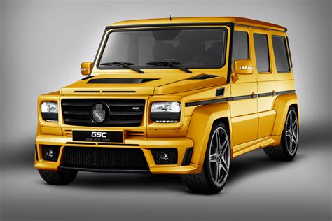 mercedes benz jeep gold gsc mercedes g class is the g wagon goldstorm car tuning
