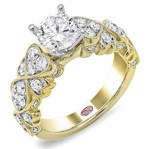 Designer engagement ring dw6233 for Wedding rings designers