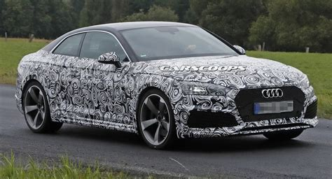 Scoop Allnew Audi Rs5 Coupe Gets In Shape