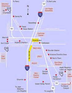 Las Vegas Hotel Map