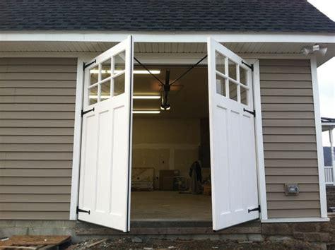 shed with garage door carriage doors traditional garage and shed by clingerman doors custom wood garage doors