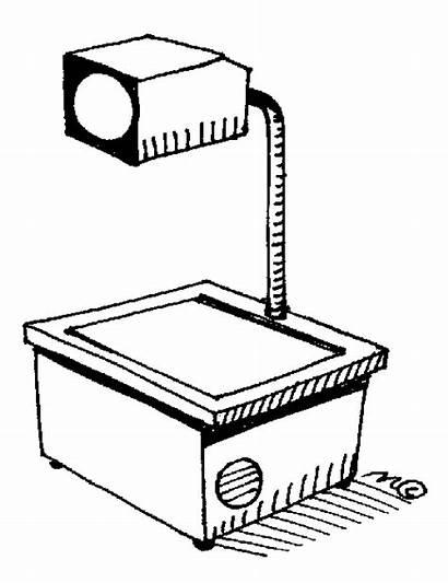 Overhead Clipart Projector Projectors Cliparts Data Class