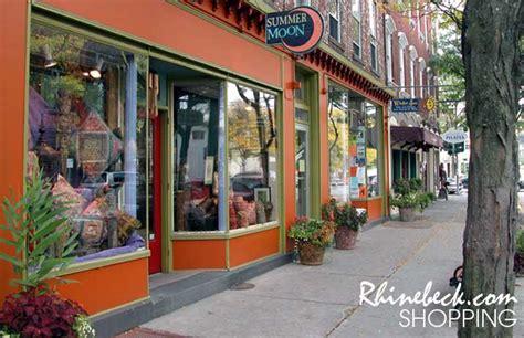 Rhinebeck New York Shopping Guide