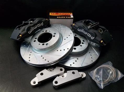 Datsun 620 Disc Brake Conversion by Datsun 240z 260z 280z New Front Disc Brake 4 Piston