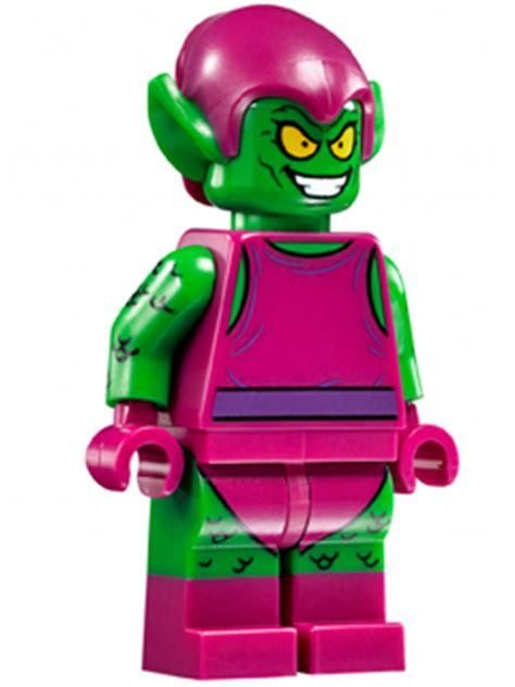 bricker lego minifigure sh green goblin magenta