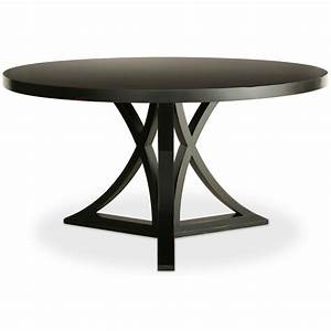 Dining table dining table black round for Dining table round