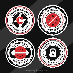 Crossfit logo collection Vector   Free Download