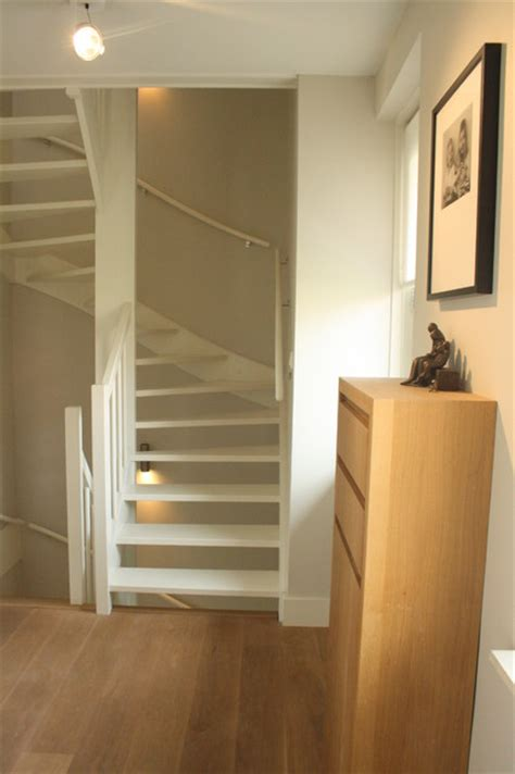 stairs to attic my houzz sophisticated family home breathes scandinavian style contemporary staircase