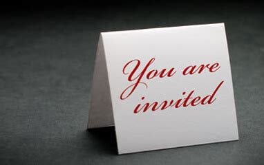 Invitation business plan
