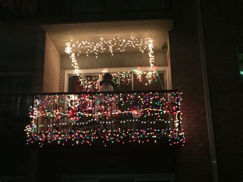 apartment patio christmas decorating ideas our residents went all out for the beacon hill balcony exterior decorating