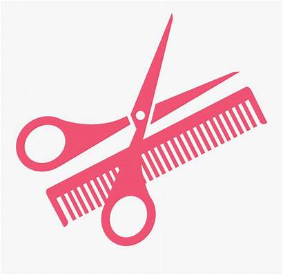 Scissors Clip Comb Hairdressing Clipart Transprent Clipartkey