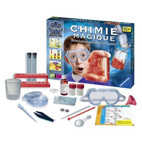 la chimie en cuisine science x maxi chimie magique ravensburger king jouet