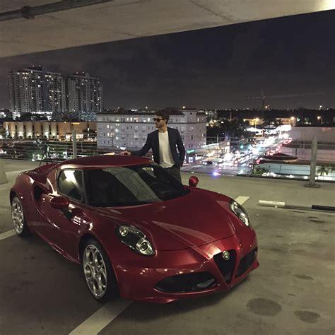 Alfa Romeo Miami miami with alfa romeo 4c galla
