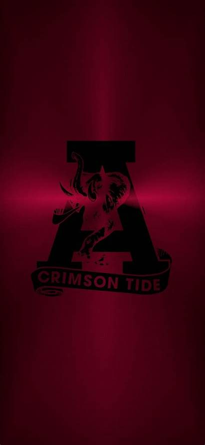 Alabama Tide Crimson Football Bama Metal