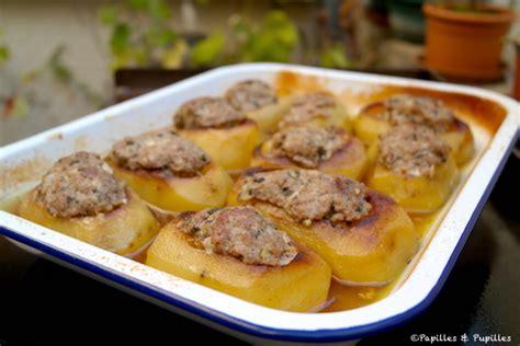 cuisiner chair à saucisse pommes de terre farcies