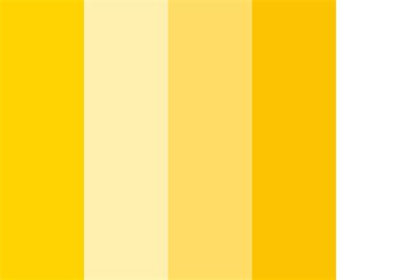 Palette Yellow by Costa Crociere Yellow 2015 Color Palette