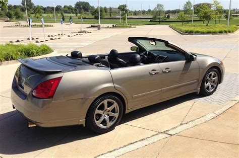 nissan convertible 2004 nissan maxima convertible is a strange ebay find