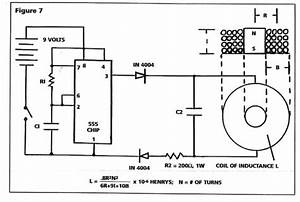 magnetic pulse generator circuit With high voltage pulse generator circuit together with tesla coil circuit
