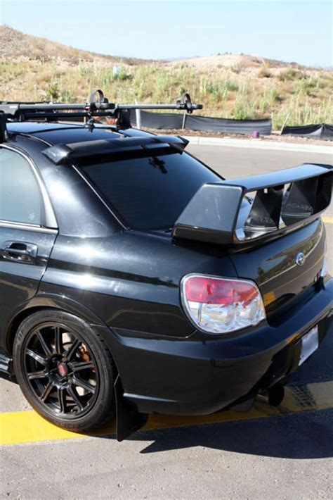 Subaru Wrx Sti Spoiler by Carbon Fiber Rear Roof Spoiler For 2006 2007 Subaru