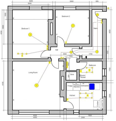 how to wire a room in house electrical online 4u wiring a bedroom photos and video wylielauderhouse com