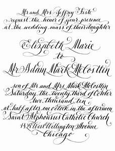 best 25 calligraphy fonts ideas on pinterest fancy With wedding invitation online preparation