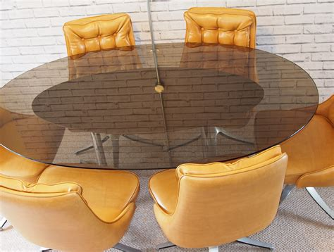 daystrom 1960s dining table and chairs
