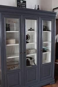comment moderniser des meubles louis philippe en merisier With gris bleu peinture 11 avant apras escalier restaurer les marches et peindre