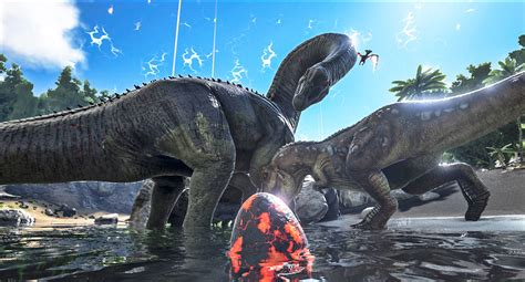 Ark Boat Designs Ps4 by Ark Survival Of The Fittest Brings Dinosaur Combat To Ps4