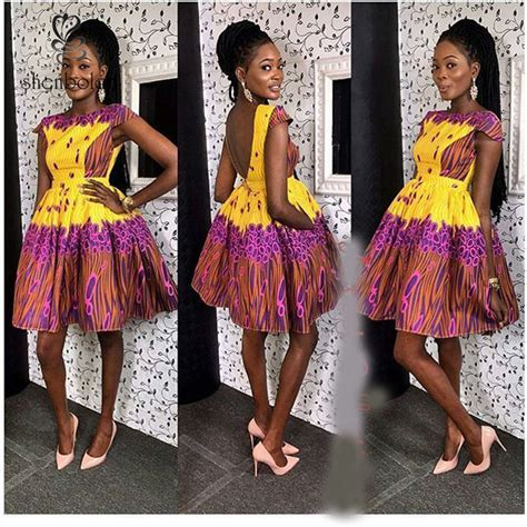 African Print Style Dress Patterns,African Fashion Designs