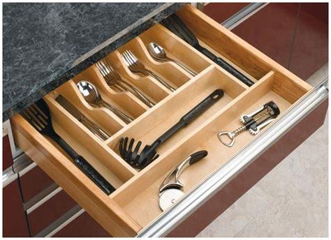 Kitchen Drawer Cabinet Storage Organizer Holder Tray