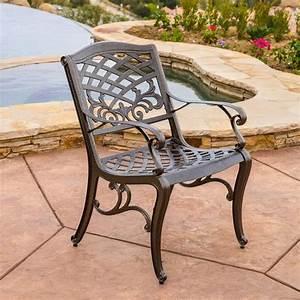 Noble, House, Sarasota, Bronze, Aluminum, Outdoor, Dining, Chair, Set, Of, 2, -239073