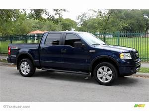 Dark Blue Pearl Metallic 2007 Ford F150 Fx4 Supercrew 4x4