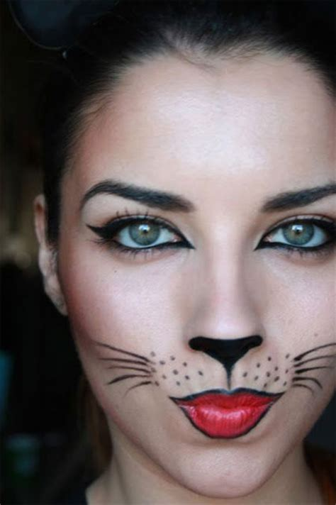 simple easy halloween face makeup ideas  girls  modern fashion blog