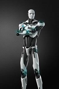 Eset Robot    3d Model On Behance