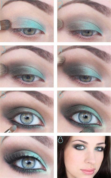 step  step makeup tutorials  green eyes