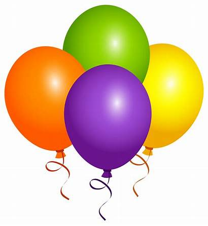 Balloons Clipart Geburtstag Clip Luftballons Birthday Transparent
